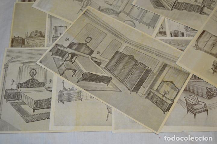 Arte: 40 LÁMINAS VARIADAS - EXQUISITAS y ANTIGUAS DE MUEBLES dormitorios CLÁSICOS y antiguos ¡Mira! - Foto 5 - 173988404