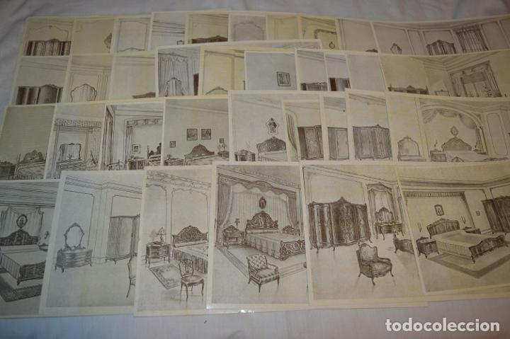 Arte: 40 LÁMINAS VARIADAS - EXQUISITAS y ANTIGUAS DE MUEBLES dormitorios CLÁSICOS y antiguos ¡Mira! - Foto 8 - 173988404