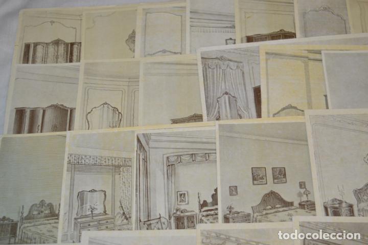 Arte: 40 LÁMINAS VARIADAS - EXQUISITAS y ANTIGUAS DE MUEBLES dormitorios CLÁSICOS y antiguos ¡Mira! - Foto 9 - 173988404