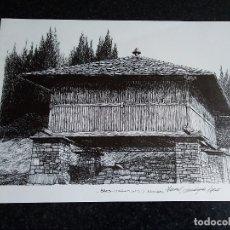 Arte: 3-LAMINA BRES, TARAMUNDI, ASTURIAS,. Lote 174104492