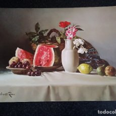 Arte: 19-LAMINA BODEGON VICENTE ROSO, VENUS Nº 14, 40 X 30 CM. Lote 174104664