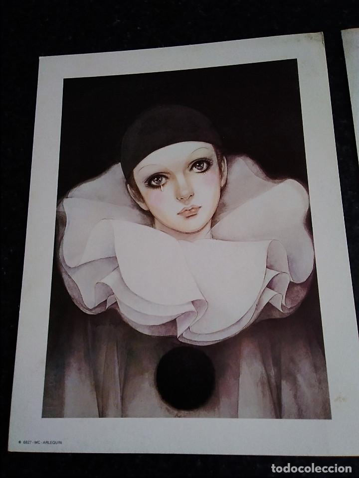 Arte: 15-TRES LAMINAS ARLEQUIN - Foto 2 - 174104704