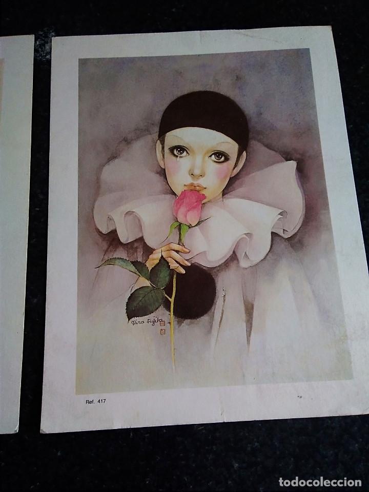 Arte: 15-TRES LAMINAS ARLEQUIN - Foto 4 - 174104704