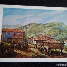 Arte: 11-LAMINA GOVIENDES, COLUNGA, ASTURIAS, DEL LIBRO DE LOS HORREOS. Lote 174104798