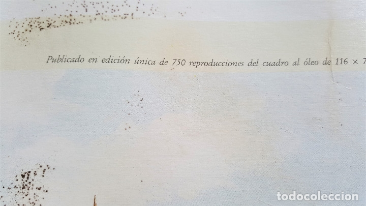 Arte: ESTEBAN ARRIAGA GRAN REGATA COLON 92 - LAMINA DE 69X51.CM APROX - Foto 7 - 174963709