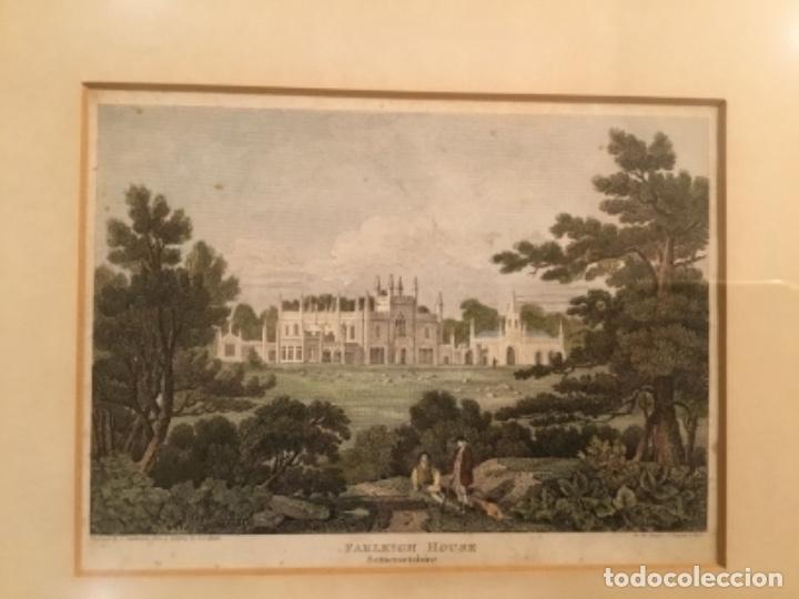 Arte: Cuadros grabados ingleses enmarcados - Foto 2 - 176238240