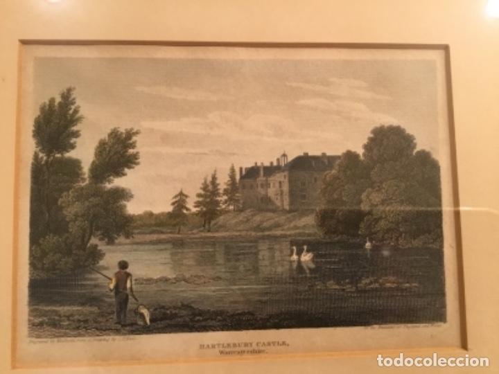 Arte: Cuadros grabados ingleses enmarcados - Foto 3 - 176238240