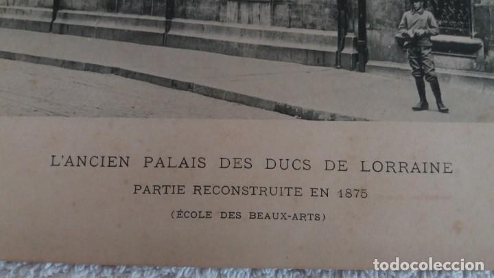 Arte: LAMINA ANTIGUA .LANCIEN PALAIS DES DCS DE LORRAINE - Foto 3 - 177179070