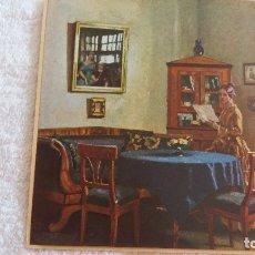 Arte: RECORTE ANTIGUO DE PRENSA O LÁMINA MONTADO SOBRE CARTONÉ A MODO DE POSTAL MANUFACTURADA. Lote 177726972
