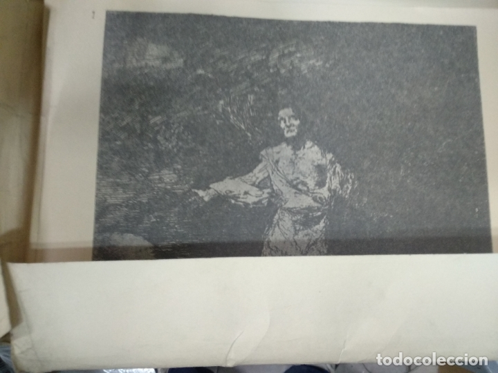 Arte: Los caprichos y los desastres de la guerra de goya, carpetilla con 80 laminas, 24 x 17 cm. - Foto 2 - 178222653
