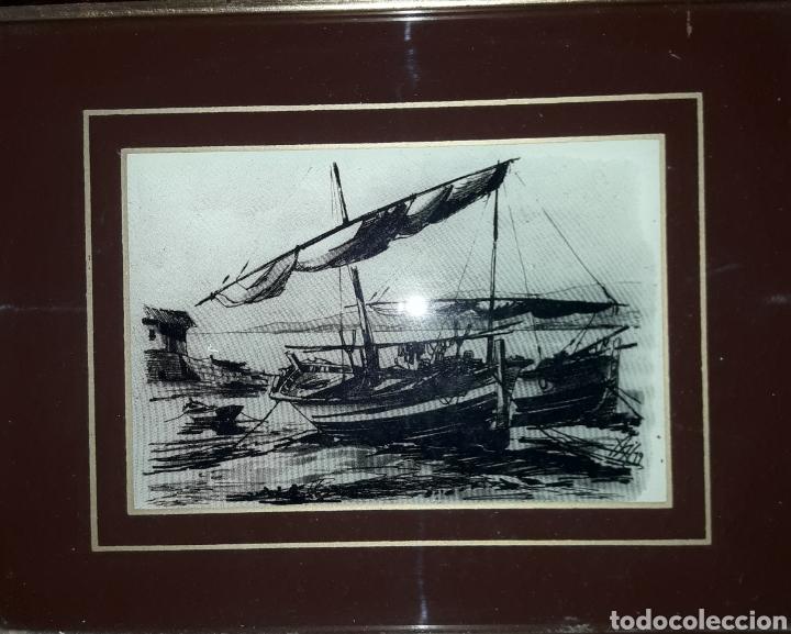CUADRO DIBUJO (Arte - Láminas Antiguas)