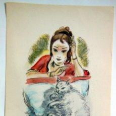 Arte: EN COMPAÑÍA. SERRES RAOUL (SCHEM). Lote 178707906
