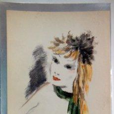 Arte: BELLEZA FEMENINA. SERRES RAOUL (SCHEM). Lote 178714655