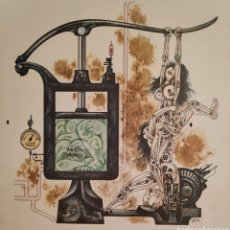 Arte: LORENZO GOÑI DIBUJO SURREALISTA LÁMINA TIRADA LIMITADA. Lote 179185355