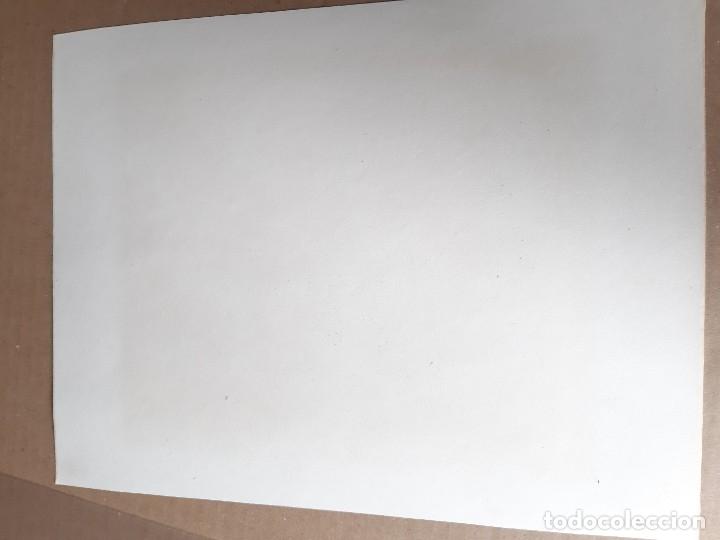 Arte: IMPRESIÓN ANTIGUA DE PESCA. AÑO 1853. 20x26 CENTÍMETROS - Foto 2 - 179243187