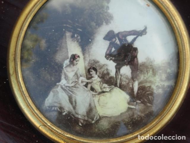 Arte: MINIATURA LÁMINA ESCENA CAMPESTRE. - Foto 3 - 180195312