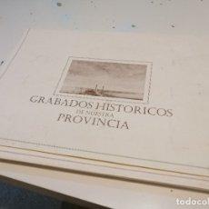 Art: G-OJU32 GRABADOS HISTORICOS DE NUESTRA PROVINCIA 36 LAMINAS DE CADIZ Y PROVINCIA . Lote 180510312