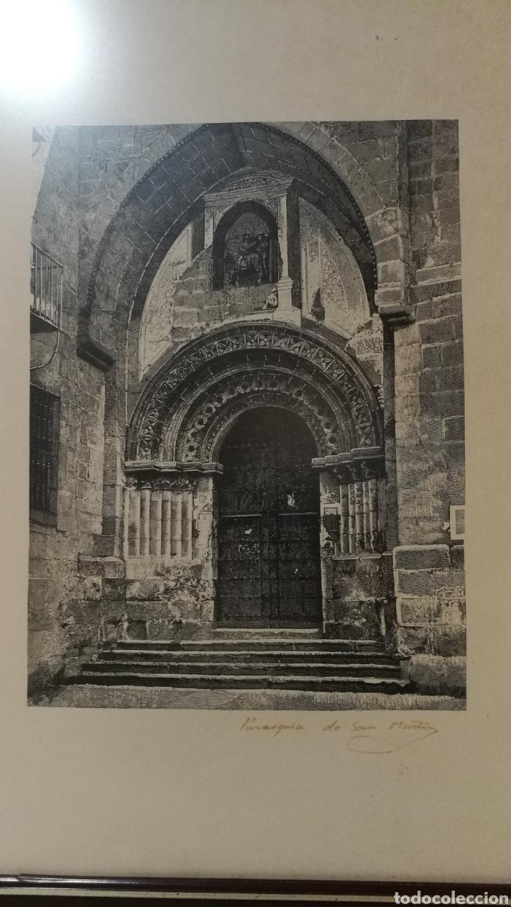 Arte: Lamina grabado Salamanca Parroquia de San Martin - Foto 2 - 181403652