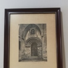 Arte: LAMINA GRABADO SALAMANCA PARROQUIA DE SAN MARTIN. Lote 181403652