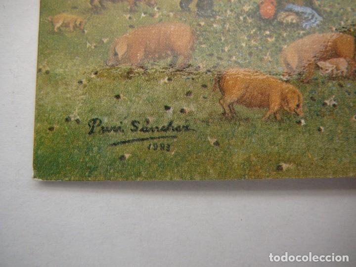 Arte: Lote 23 postales con la temática Castilla de la Pintora Puri Sánchez Años 80 - Foto 14 - 182910616