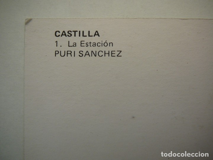 Arte: Lote 23 postales con la temática Castilla de la Pintora Puri Sánchez Años 80 - Foto 11 - 182910616