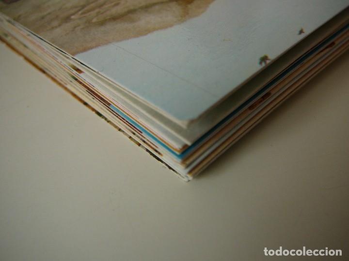 Arte: Lote 23 postales con la temática Castilla de la Pintora Puri Sánchez Años 80 - Foto 17 - 182910616