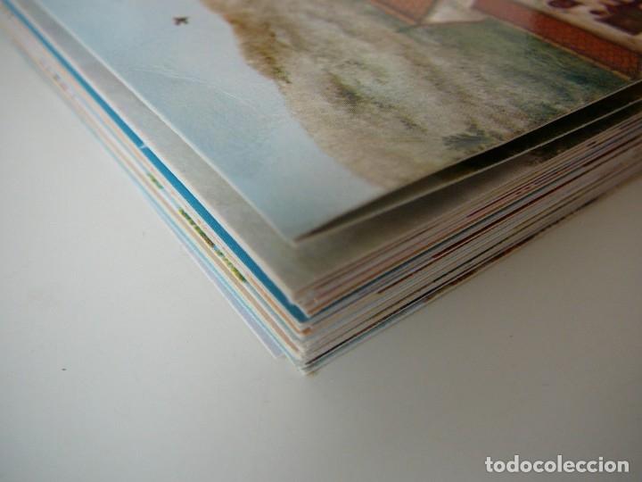 Arte: Lote 23 postales con la temática Castilla de la Pintora Puri Sánchez Años 80 - Foto 18 - 182910616