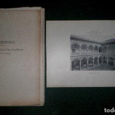 Art: AZNAR, F.Y R.: PALACIO DE LOS DUQUES DEL INFANTADO EN GUADALAJARA. 24 LÁMINAS. C.1902. ARQUITECTURA. Lote 182990606