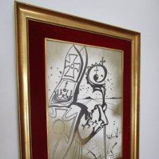 Arte: CARTEL SANT NARCIS - EDICIÓN LIMITADA 500 UNIDADES - SALVADOR DALÍ - AÑO 1973. Lote 183758788
