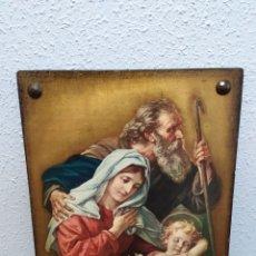 Arte: PRECIOSA OBRA PICTÓRICO RELIGIOSA, VER. Lote 183865597