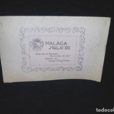 Arte: MALAGA SIGLO XIX - COLECCION DE ESTAMPAS NUMERADAS DEL 1 AL 6, DIBUJADAS POR LEANDRO SANCHEZ CAVILLA. Lote 183924311