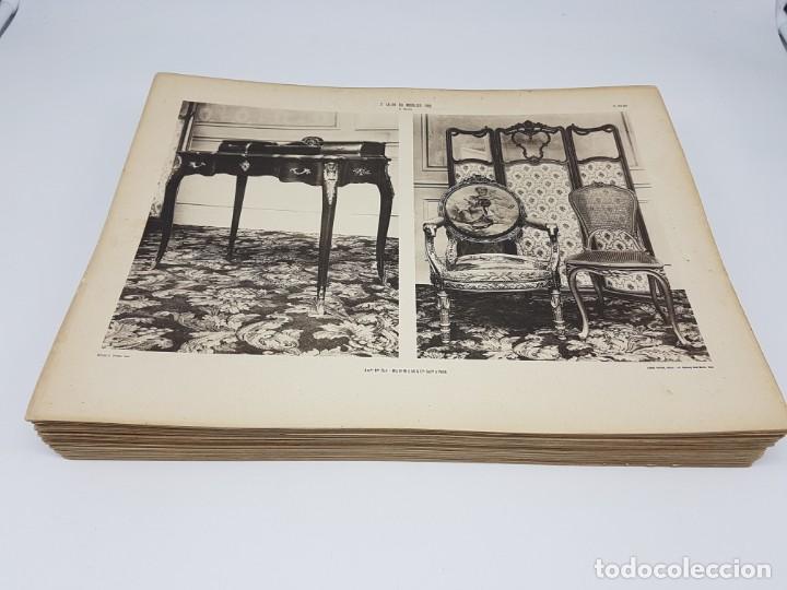 Arte: LOTE 166 LAMINAS DE EXPOSICIÓN DE ANTIGUEDADES Y MOBILIÁRIO - PARIS 1908 - Foto 2 - 184102926