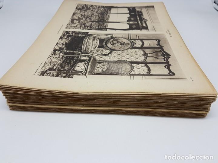 Arte: LOTE 166 LAMINAS DE EXPOSICIÓN DE ANTIGUEDADES Y MOBILIÁRIO - PARIS 1908 - Foto 3 - 184102926
