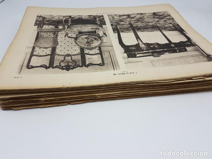 Arte: LOTE 166 LAMINAS DE EXPOSICIÓN DE ANTIGUEDADES Y MOBILIÁRIO - PARIS 1908 - Foto 4 - 184102926