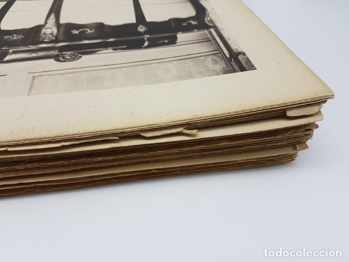 Arte: LOTE 166 LAMINAS DE EXPOSICIÓN DE ANTIGUEDADES Y MOBILIÁRIO - PARIS 1908 - Foto 5 - 184102926