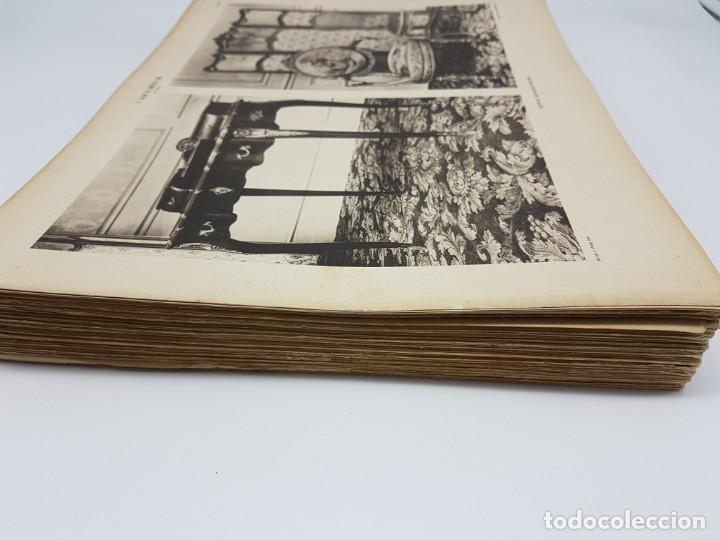 Arte: LOTE 166 LAMINAS DE EXPOSICIÓN DE ANTIGUEDADES Y MOBILIÁRIO - PARIS 1908 - Foto 6 - 184102926