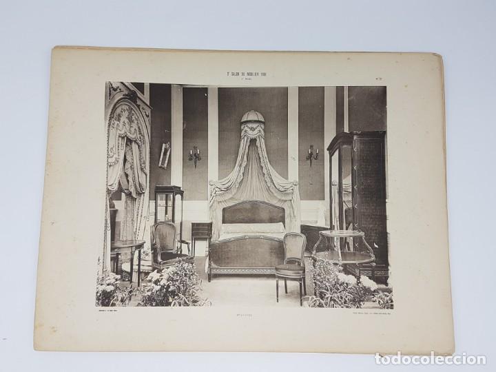 Arte: LOTE 166 LAMINAS DE EXPOSICIÓN DE ANTIGUEDADES Y MOBILIÁRIO - PARIS 1908 - Foto 11 - 184102926