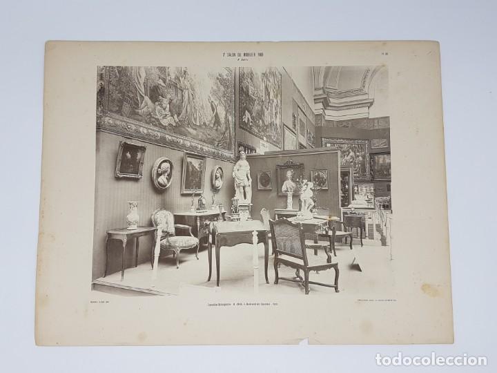 Arte: LOTE 166 LAMINAS DE EXPOSICIÓN DE ANTIGUEDADES Y MOBILIÁRIO - PARIS 1908 - Foto 16 - 184102926