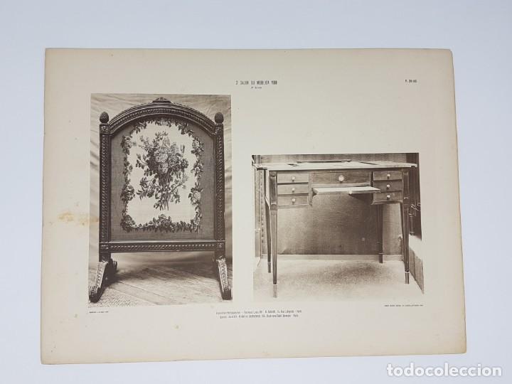 Arte: LOTE 166 LAMINAS DE EXPOSICIÓN DE ANTIGUEDADES Y MOBILIÁRIO - PARIS 1908 - Foto 19 - 184102926
