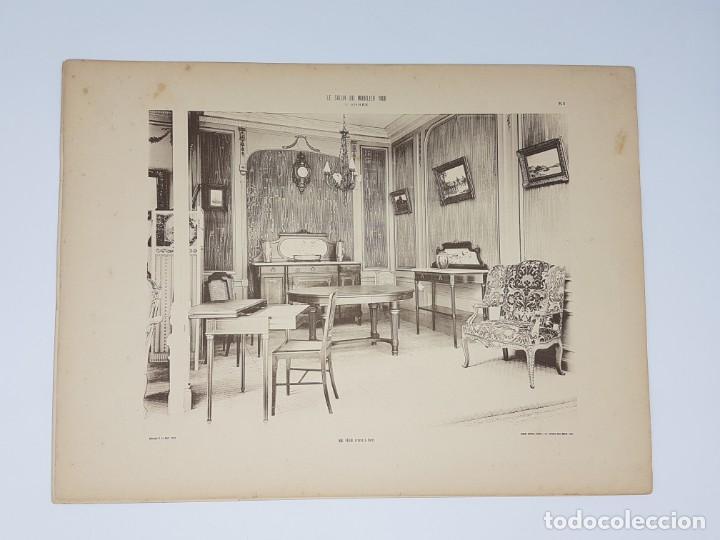 Arte: LOTE 166 LAMINAS DE EXPOSICIÓN DE ANTIGUEDADES Y MOBILIÁRIO - PARIS 1908 - Foto 20 - 184102926