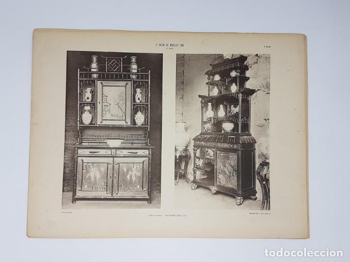 Arte: LOTE 166 LAMINAS DE EXPOSICIÓN DE ANTIGUEDADES Y MOBILIÁRIO - PARIS 1908 - Foto 22 - 184102926