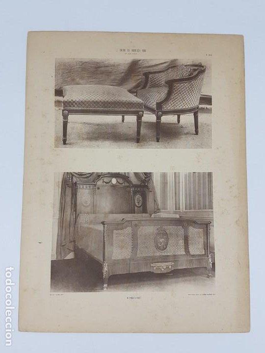 Arte: LOTE 166 LAMINAS DE EXPOSICIÓN DE ANTIGUEDADES Y MOBILIÁRIO - PARIS 1908 - Foto 25 - 184102926
