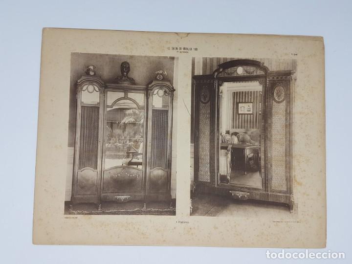 Arte: LOTE 166 LAMINAS DE EXPOSICIÓN DE ANTIGUEDADES Y MOBILIÁRIO - PARIS 1908 - Foto 26 - 184102926