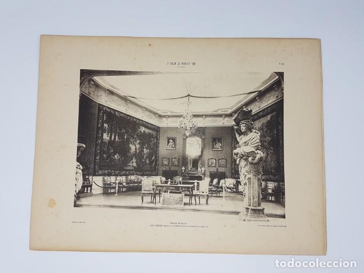 Arte: LOTE 166 LAMINAS DE EXPOSICIÓN DE ANTIGUEDADES Y MOBILIÁRIO - PARIS 1908 - Foto 27 - 184102926
