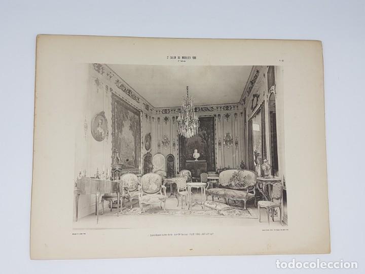 Arte: LOTE 166 LAMINAS DE EXPOSICIÓN DE ANTIGUEDADES Y MOBILIÁRIO - PARIS 1908 - Foto 28 - 184102926