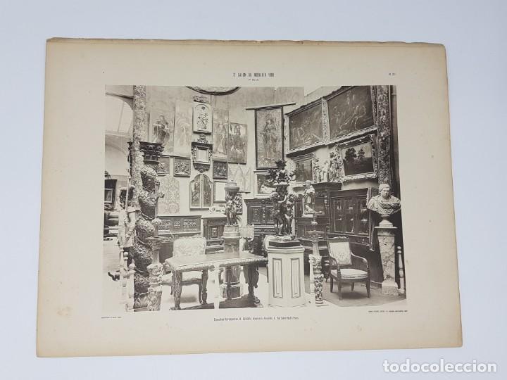 Arte: LOTE 166 LAMINAS DE EXPOSICIÓN DE ANTIGUEDADES Y MOBILIÁRIO - PARIS 1908 - Foto 30 - 184102926
