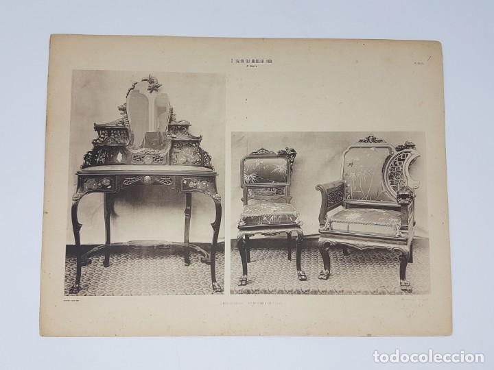 Arte: LOTE 166 LAMINAS DE EXPOSICIÓN DE ANTIGUEDADES Y MOBILIÁRIO - PARIS 1908 - Foto 31 - 184102926