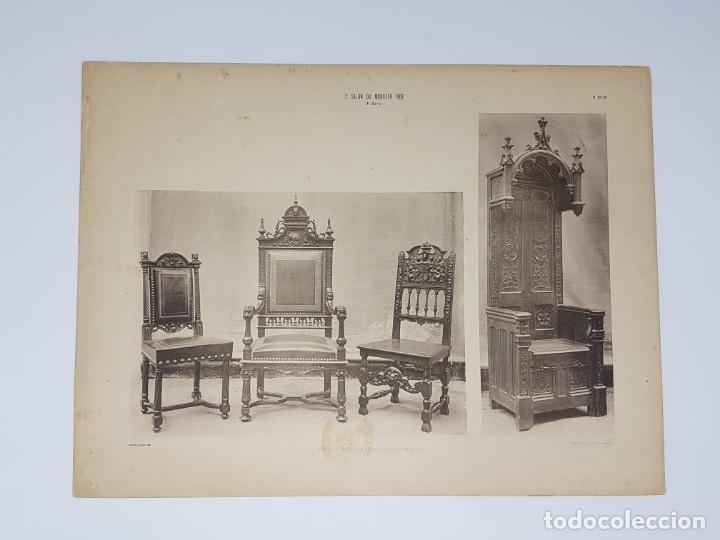 Arte: LOTE 166 LAMINAS DE EXPOSICIÓN DE ANTIGUEDADES Y MOBILIÁRIO - PARIS 1908 - Foto 32 - 184102926