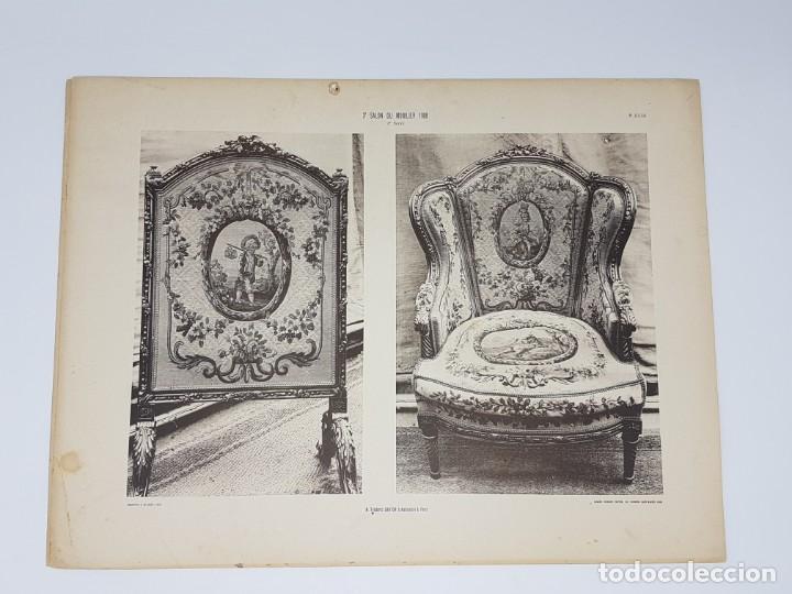 Arte: LOTE 166 LAMINAS DE EXPOSICIÓN DE ANTIGUEDADES Y MOBILIÁRIO - PARIS 1908 - Foto 33 - 184102926