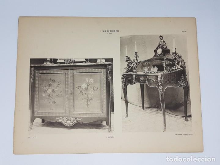 Arte: LOTE 166 LAMINAS DE EXPOSICIÓN DE ANTIGUEDADES Y MOBILIÁRIO - PARIS 1908 - Foto 34 - 184102926